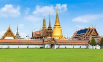 Temple of the Emerald Buddha or Wat Phra Kaew.